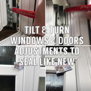 Fix tilt & turn window Essex